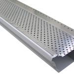 Aluminum Gutter Guard w/ Round Holes